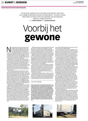 De Volkskrant - 'Voorbij het gewone'