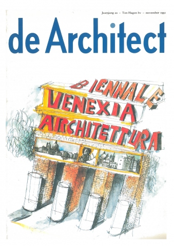 de Architect, november 1991 - 'Wedijver in doorzichtigheid'