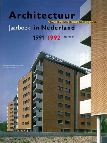 Architectuur in Nederland Jaarboek 1991 / 1992 - 'De herovering van de transparantie'