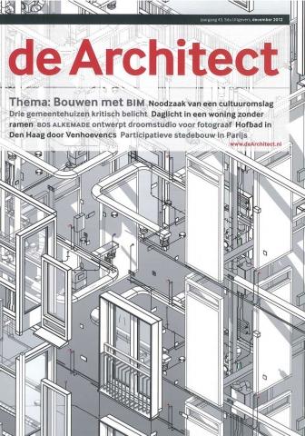 De Architect, december 2012 - 'Drie gemeentehuizen'