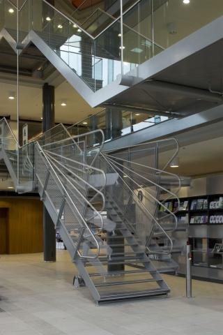 Interieur Openbare Bibliotheek Heerhugowaard