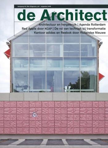De Architect #7/8, 2009, 'Benaderingen van hergebruik'