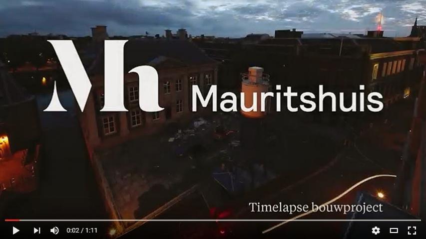 Timelaps Construction Mauritshuis, door Joost Guntenaar
