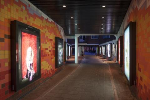 Verbeterde passage Hercules Segherskwartier geopend.