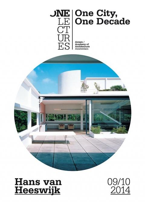 Lezing Hans van Heeswijk: 'One City One Decade'.