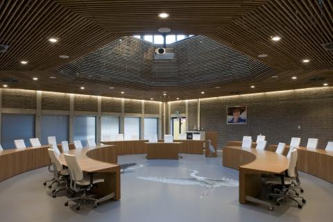 Interieur gemeentehuis Heerhugowaard