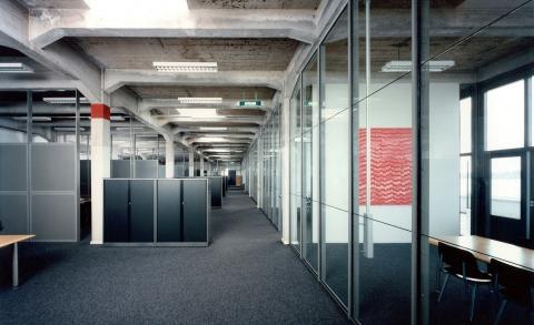 Interieur kantoor De Key