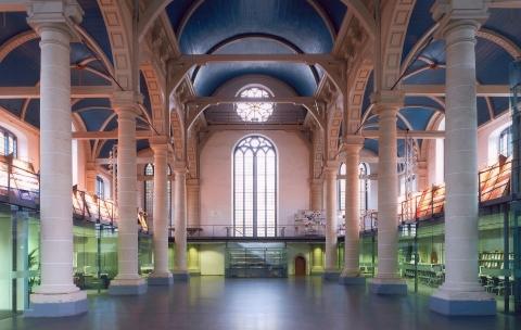 Interieur Zuiderkerk